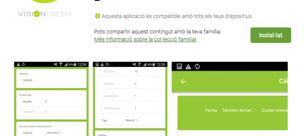 App simulador préstamo